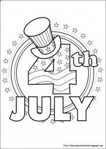 Printable 4th Of July Coloring Pages Crafts And Puzzles For Kids