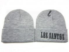 Bonnet Los Santos Pas Cher Gris : Casquette Pas Cher