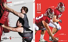 2011 Alabama Football Media Guide Covers on Behance