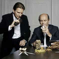 Christopher Sheldrake and Jacques Polge of Chanel