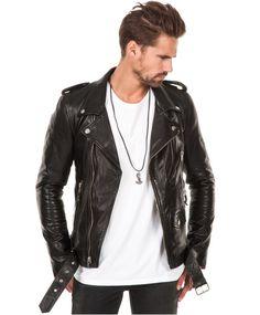91905defaa530 BLK DNM - Leather Jacket 5 Black - Stayhard
