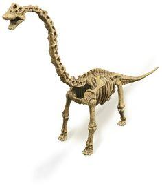Geoworld Dino Excavation Kit 23210681 Brachiosaurus - Kit de excavación de esqueletos de dinosaurio (28 cm): Amazon.es: Juguetes y juegos