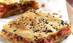 Συνταγή για φοιτητές: Ζαμπονοτυρόπιτα με πιπεριές και ντομάτα | foititakos.gr | Το μεγαλύτερο φοιτητικό blog, από το 2007!