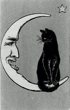 Vintage Man the Moon Illustrations - Yahoo Image Search Results