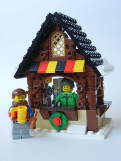 Lego Christmas Ornaments, Christmas Villages, Christmas Holidays, Lego Projects, Projects To Try, Lego Winter Village, Lego Worlds, Lego House, Lego Stuff