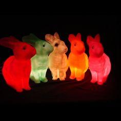 rabbit lamps!!