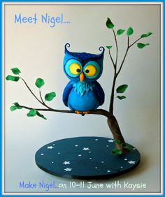 NIgel the Night Owl http://www.prettywittycakes.co.uk