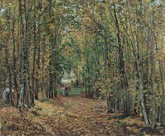 """Puede verse una importante #colección de obras de Camille Pissarro en el @museothyssen (""""El bosque de Marly"""", 1871) pic.twitter.com/3mkQ1pZekC http://cincuentopia.com"""