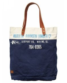 bag - read the print - Moline Illinois - Mueller Bahnsen Lumber store on airport road! My Bags, Purses And Bags, Man Purse, Shopper, Clutch Bag, Scotch, Reusable Tote Bags, Mens Fashion, Leather