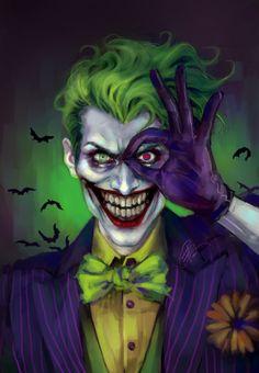 In the name of the Clown Prince of Crime and for the glory of sarcasm and dark humor! Joker Photos, Joker Images, Dc Comics Art, Batman Comics, Harley Quinn Cosplay, Joker And Harley Quinn, Skull Artwork, Cool Artwork, Harley Quinn Tattoo