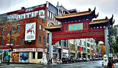 Visiter le Quartier Chinois Chinatown, Montréal, Québec.