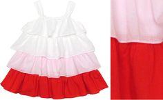 Tiered Sleeveless Dress - cute Valentine's Day dress