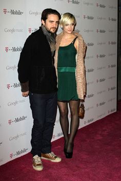 Ashlee Simpson and Vincent Piazza cozy up at Launch of Google Music