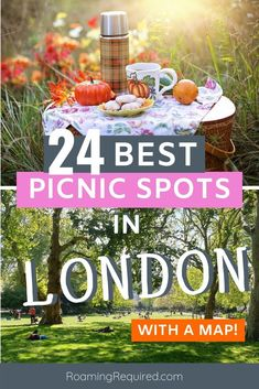 London Travel Guide!  We trawled London to find the best spots in the whole city for these best 24 spots for a picnic in London.  They're all free to access and we've even included some secret spots only Londoners know about!   Also included is a handy map to make it even easier to find a picnic spot near you.  #London #Picnic #summer #hydepark #vickypark #UK #hampsteadheath #free #soho #richmondpark #socialdistancing #postlockdown Travel Advice, Travel Guide, Travel Ideas, Travel Articles, London Must See, Hampstead Heath, Richmond Park, Picnic Spot, Short Break