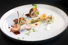 L'agnello al ristorante Il Comandante, stella Michelin dell'hotel Romeo di Napoli