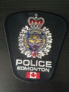 Edmonton Police, Alberta, Canada - Current Issue Police Badges, Police Uniforms, Police Cars, Military Police, Police Officer, Canadian Law, Honor Guard, Law Enforcement Agencies, Police Patches