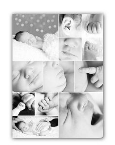Newborn Baby Collage                                                                                                                                                      More