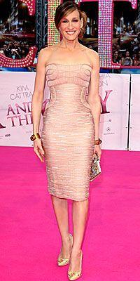Sarah Jessica Parker wearing Versace
