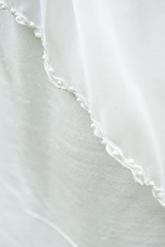 pearl chiffon and silk detail: www.esthercatherine.com  One Big Picture Photography  Braw Brides Woodland shoot Big Picture, Real Weddings, Woodland, Brides, Chiffon, Pearls, Silk, Detail, Pictures