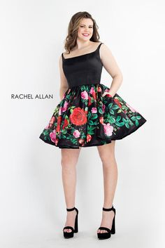 714b09125e1e Rachel Allan Plus Size Prom 4807 The fabric in this Rachel ALLAN CURVES  Shorts style is