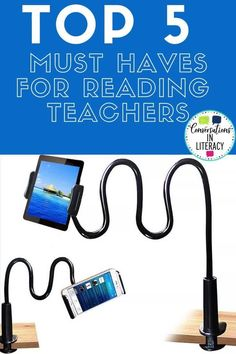 Read about these Top 5 Must Haves For Reading Teachers to see what teachers need for back to school no matter whether they are teaching in the elementary classroom or doing distance learning! #backtoschool #elementary #guidedreading #teacher #conversationsinliteracy #distancelearning #digitallearning #kindergarten #firstgrade #secondgrade #thirdgrade kindergarten, 1st grade, 2nd grade, 3rd grade