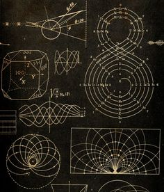 our friend the atom / Sacred Geometry ♥