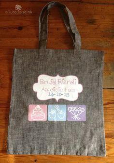 Custom Bride Shopping Bag