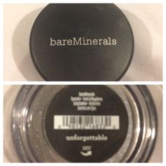 Bare minerals eyeshadow in unforgettable