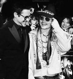 ~Robert & Johnny Depp~