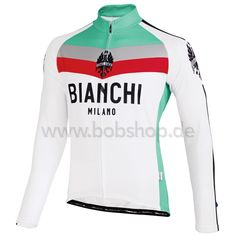 YES! Very sexy if you look like Marcel Kittel on a bike  Men's BIANCHI MILANO Kando Long Sleeve Jersey white-red