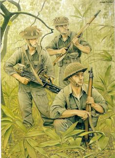 British infantry in Burma, ca. 1943