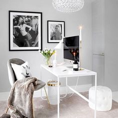 writing spaces, home office inspiration. Cozy Home Office, Home Office Design, Home Office Decor, Home Decor, Office Ideas, Office Inspo, Cool Office Space, Desk Office, Office Setup