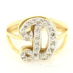 K Letter In Diamond Ring in the center crafted beautifully in yellow gold the lower page load ...