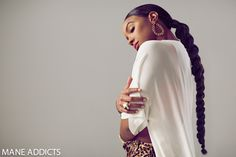 Kelly Rowland Transforms into Four Iconic Beauties for Stunning Editorial