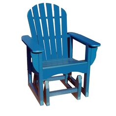 Beachfront Furniture Adirondack Polywood Outdoor Glider Chair - ADSGL