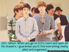 exo cute facts - D.O