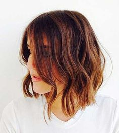 20 Short Hairstyles For Wavy Fine Hair | Latest Bob Hairstyles | Page 3