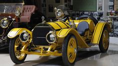 A 1913 Mercer Raceabout in Jay Leno's collection