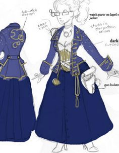 Doctor Who SteamPunk Costume