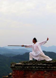 Sword tai chi - wudang mountain, China