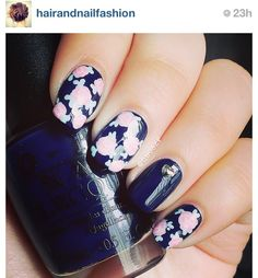 Cute nail design for summer love it but looks really hard to do.