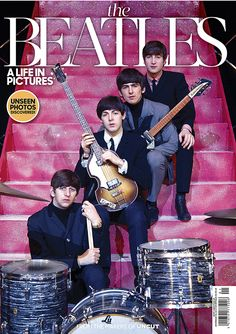 NME - Uncut, The Beatles - Life In Pictures. Officially licensed merchandise, T shirts, hoodies, and much more. The largest range available on the net. Beatles Band, Beatles Love, Beatles Museum, John Lennon Paul Mccartney, All My Loving, Music Genius, Red Pictures, Cats Musical, Rock Bands