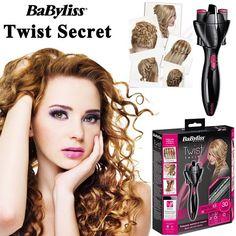 Babyliss Twist Secret Tutorial 2 Wasserfallzopf Youtube