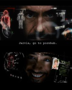 J.A.R.V.I.S. go to pornhub!