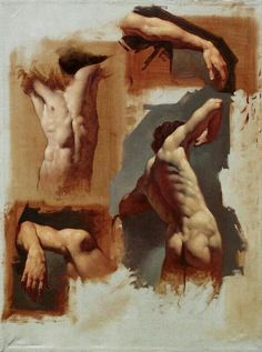 Drawing The Human Figure - Tips For Beginners - Drawing On Demand Anatomy Sketches, Anatomy Drawing, Anatomy Art, Human Figure Drawing, Life Drawing, Figure Painting, Painting & Drawing, Painting Abstract, Art Of Man