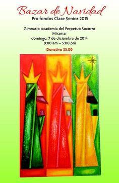 Bazar navideño Academia del Perpetuo Socorro #sondeaquipr #bazarnavideno #sanjuan #academiaperpetuosocorro
