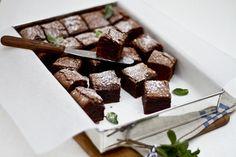 Peppermint brownies | Meals in Heels