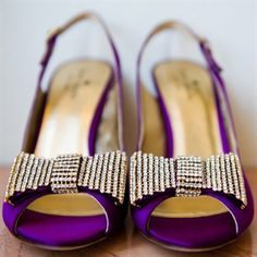 My shade of purple - and bling!