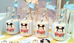 Disney Tsum Tsum Baby Shower Party Ideas | Photo 5 of 16 | Catch My Party