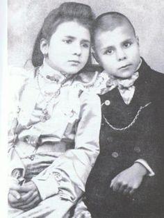 Florbela Espanca e irmão